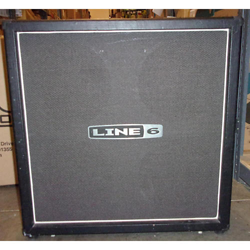 Line 6 Spider 412 4x12 Straight Guitar Cabinet-thumbnail
