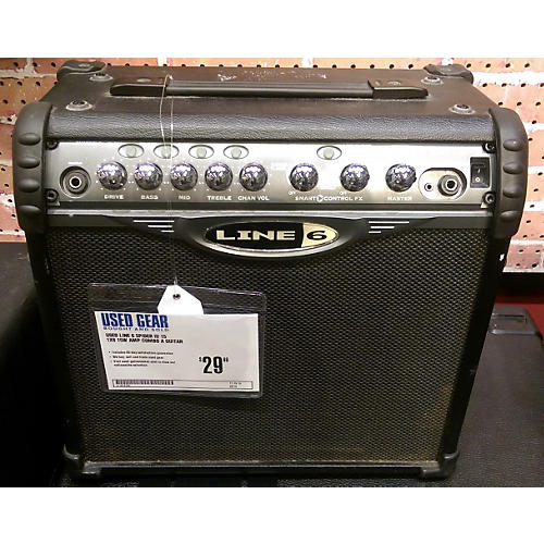 Line 6 Spider II 15 1X8 15W AMP COMBO A GUITAR-thumbnail