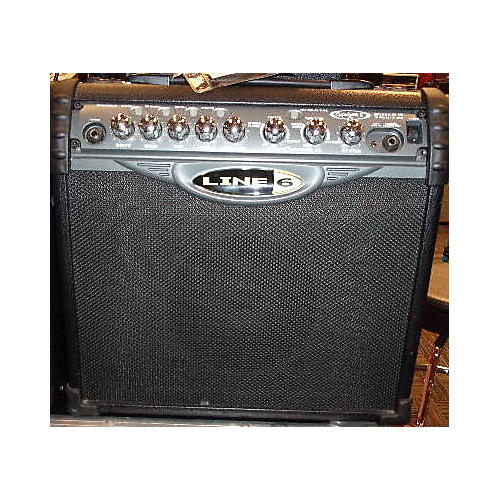 Line 6 Spider II 15 1X8 15W Guitar Combo Amp-thumbnail