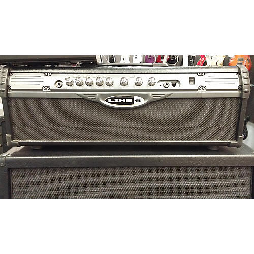 Line 6 Spider II HD75 75W Guitar Amp Head-thumbnail
