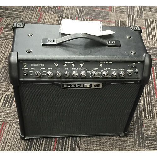 Line 6 Spider III 30W 1x12 Guitar Combo Amp-thumbnail