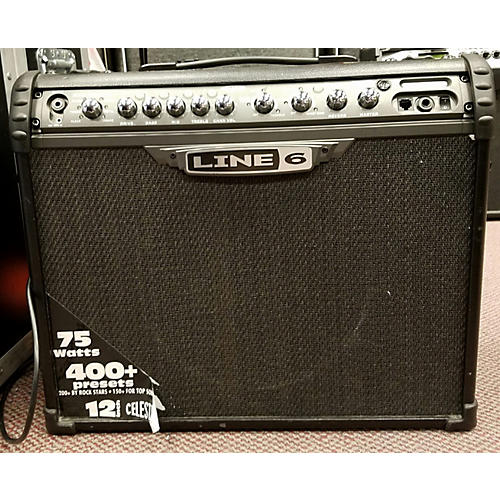 Line 6 Spider III 75 1x12 75W Guitar Combo Amp-thumbnail