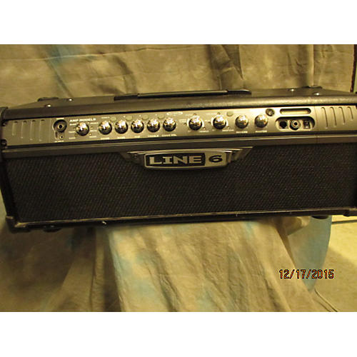 Line 6 Spider III HD75 75W Solid State Guitar Amp Head-thumbnail