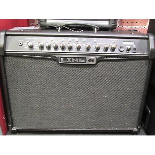 Line 6 Spider IV 120W 2X10 Black Guitar Combo Amp-thumbnail
