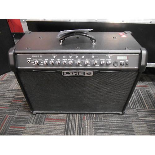 Line 6 Spider IV 120W 2X10 Black Guitar Combo Amp