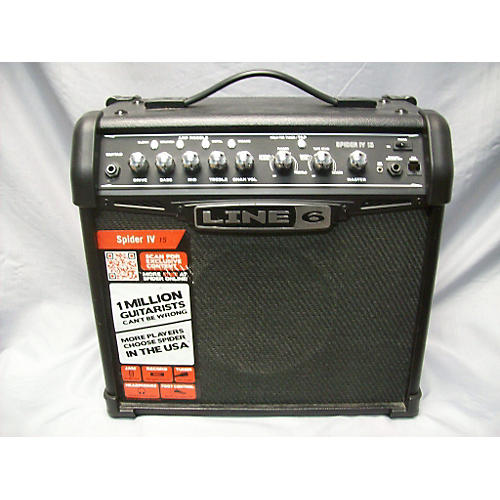 Line 6 Spider IV 15W 1X8 Guitar Combo Amp-thumbnail
