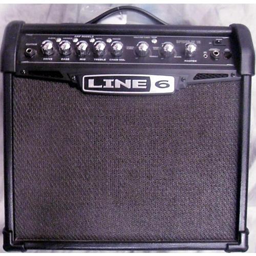 used line 6 spider iv 15w 1x8 guitar combo amp guitar center. Black Bedroom Furniture Sets. Home Design Ideas