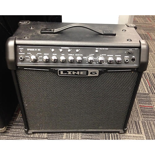Line 6 Spider IV 30W 1x12 Guitar Combo Amp-thumbnail