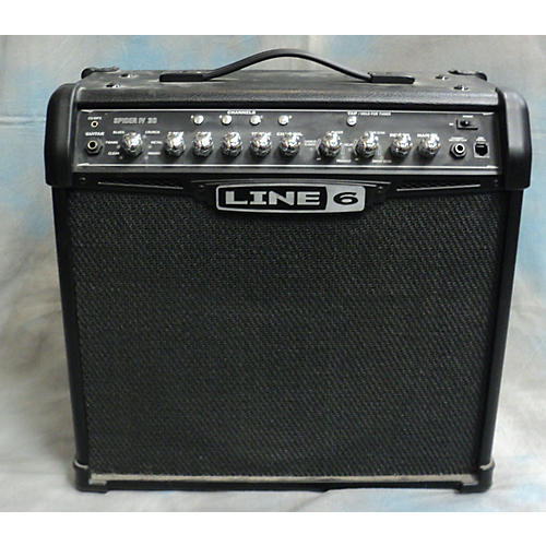 Line 6 Spider IV 30W 1x12 Guitar Combo Amp