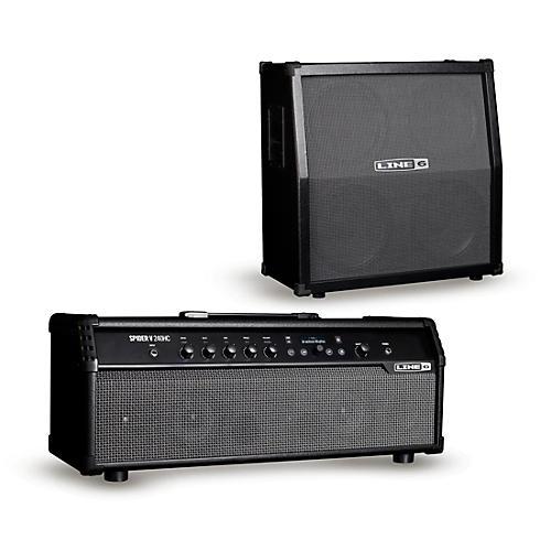 Line 6 Spider V 240HC 240W Head and 412 320W 4x12 Guitar Speaker Cabinet
