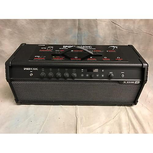 used line 6 spider v 240hc solid state guitar amp head guitar center. Black Bedroom Furniture Sets. Home Design Ideas