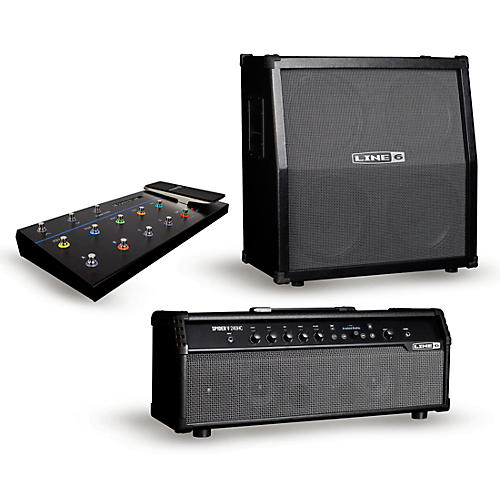 Line 6 Spider V  240W Head & 412 Cabinet with  FBV 3 Footswitch