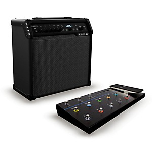 Line 6 Spider V 60 Watt 1x10 Guitar Combo Amp and FBV 3 Footswitch