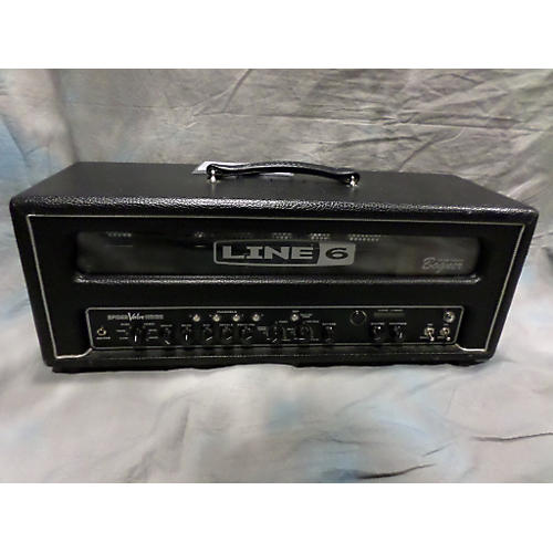 Line 6 Spider Valve HD100 Black Tube Guitar Amp Head-thumbnail