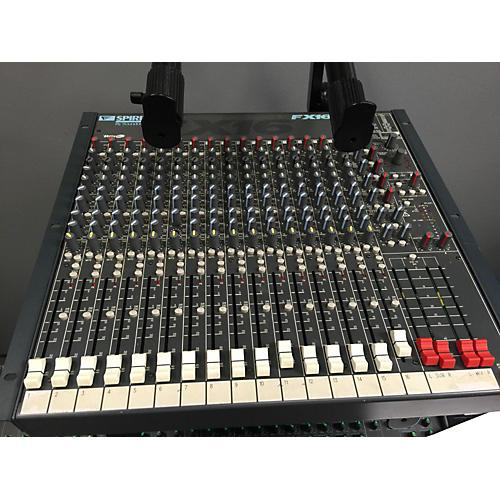 Soundcraft Spirit Fx16 Powered Mixer