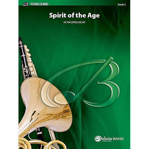 Alfred Spirit of the Age Concert Band Grade 2 Set
