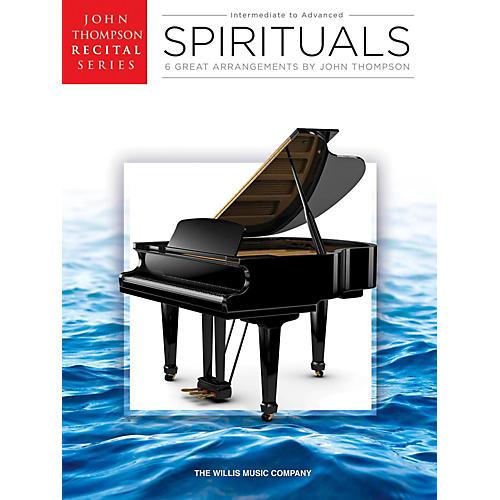 Hal Leonard Spirituals John Thompson Recital Series Intermediate to Advanced Level Piano-thumbnail