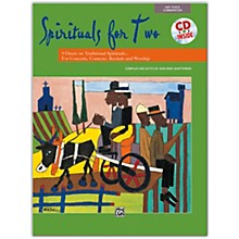 Alfred Spirituals for Two Book & Acc. CD