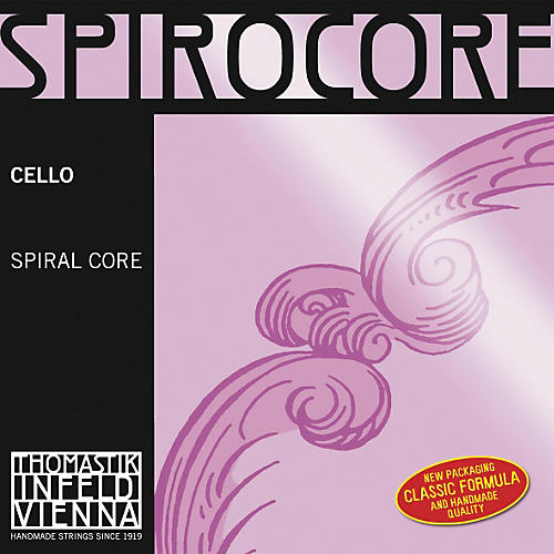 Thomastik Spirocore 3/4 Size Cello Strings-thumbnail