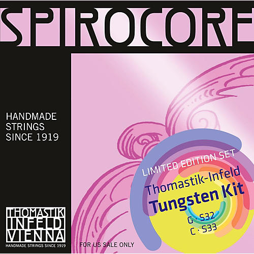 Thomastik Spirocore Cello Tungsten G&C Value Pack-thumbnail
