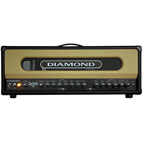 Diamond Amplification Spitfire II USA Custom Series 50W/100W Tube Guitar Amp Head-thumbnail