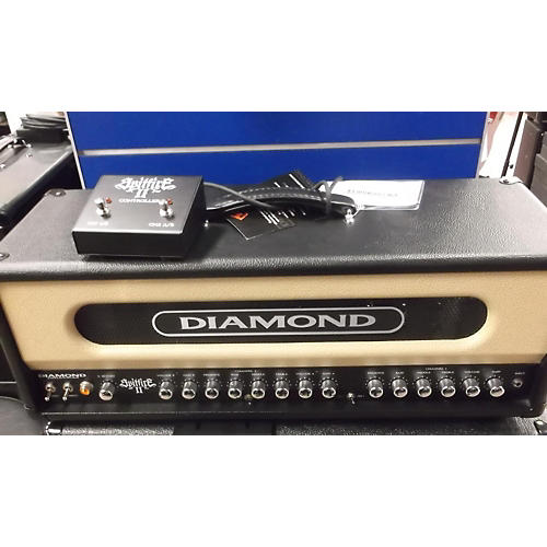 Diamond Amplification Spitfire II USA Custom Series 50W/100W Tube Guitar Amp Head