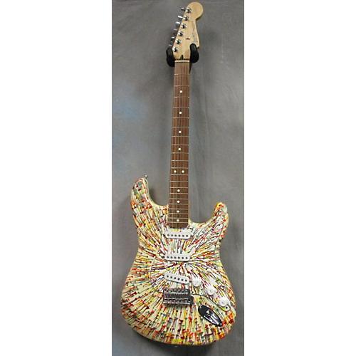 Fender Splattercaster Stratocaster Solid Body Electric Guitar