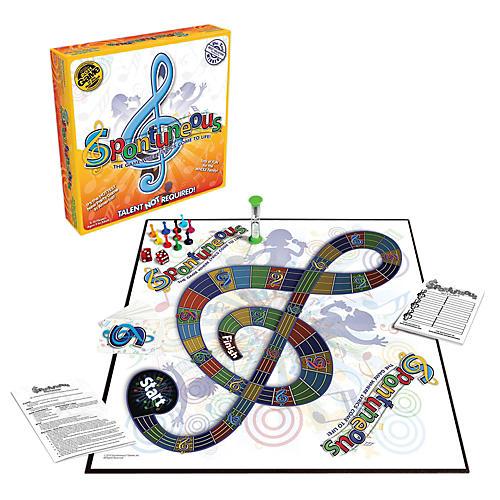 Hal Leonard Spontuneous Board Game - Where The Lyrics Come To Life-thumbnail