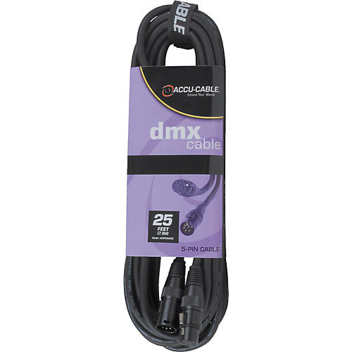 American DJ Spool 5-Pin DMX Cable 25 ft.