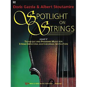 KJOS Spotlight On Strings 2 Viola by KJOS