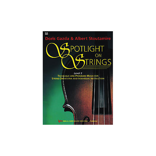 KJOS Spotlight On Strings 2 Viola-thumbnail
