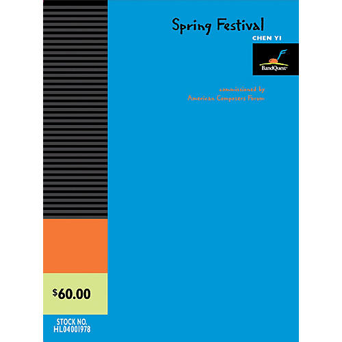 American Composers Forum Spring Festival (BandQuest Series Grade 3) Concert Band Level 3 Composed by Chen Yi