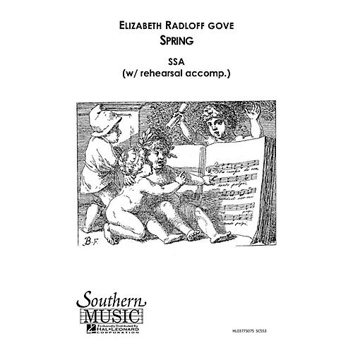 Southern Spring SSA Composed by Elizabeth Gove