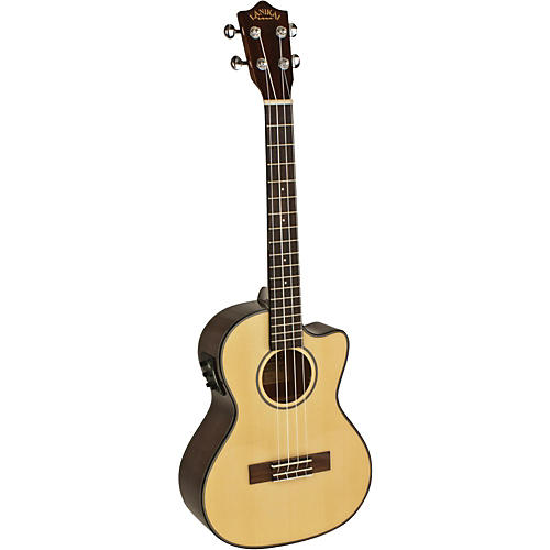 Lanikai Spruce Series S-TEK Tenor Acoustic-Electric Ukulele with Fishman Kula Electronics Natural