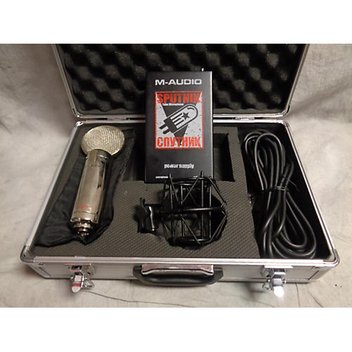 M-Audio Sputnik Tube Microphone Condenser Microphone-thumbnail