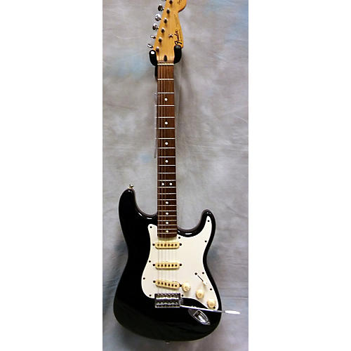 Fender Squier MIM Stratocaster Black Solid Body Electric Guitar