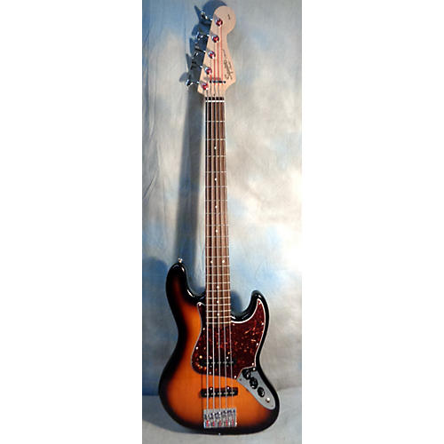 Fender Squire J Bass 5 String Electric Bass Guitar-thumbnail