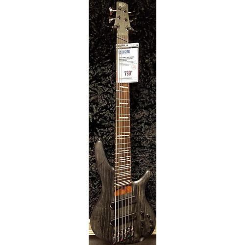 Ibanez Srff806bks Electric Bass Guitar-thumbnail