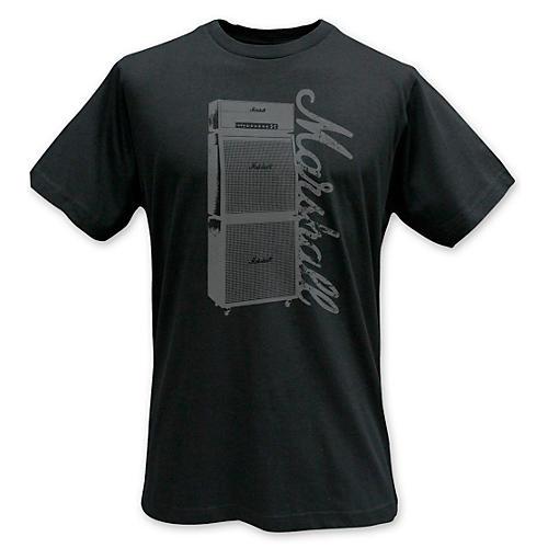 Marshall Stack T-Shirt Black Small