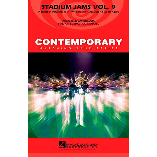 Hal Leonard Stadium Jams Vol. 9 - Pep Band/Marching Band Level 3-thumbnail