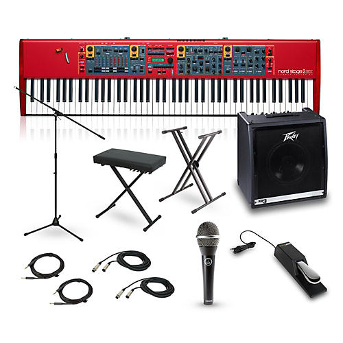 Nord Stage 2 Compact 73-Key Complete Stage Bundle-thumbnail