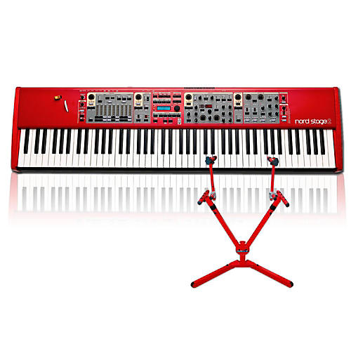 Nord Stage 2 HA88 with Matching 2-Tier Keyboard Stand