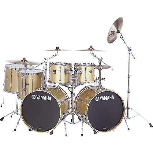 Yamaha Stage Custom Advantage 7pc Double Bass Drumset-thumbnail