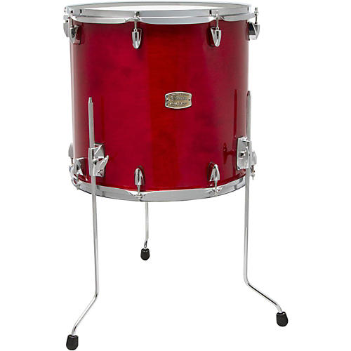 Yamaha stage custom birch floor tom 18 x 16 in cranberry for 16 x 12 floor tom