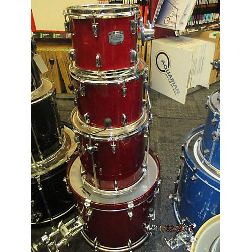 Yamaha Stage Custom Drum Kit Red