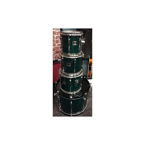 Yamaha Stage Custom Drum Kit Emerald Green