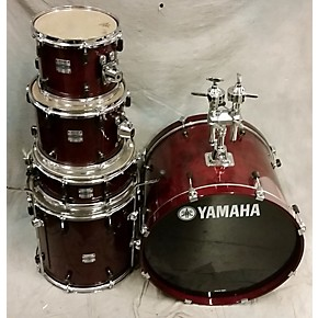 Used yamaha stage custom drum kit guitar center for Yamaha bass drum decal
