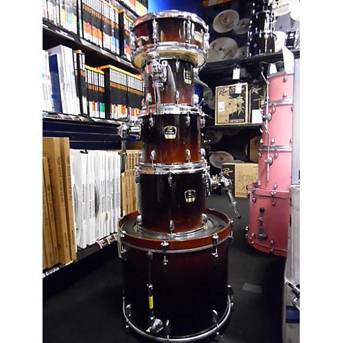 used yamaha stage custom drum kit 2 tone sunburst guitar center. Black Bedroom Furniture Sets. Home Design Ideas