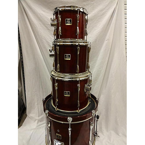 Used yamaha stage custom drum kit guitar center for 14x12 floor tom