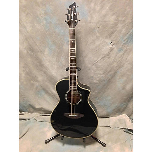 Breedlove Stage Dreadnought Black Magic Acoustic Electric Guitar-thumbnail